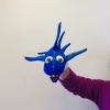 Marioneta de mano tiburón