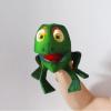 Marioneta de mano rana
