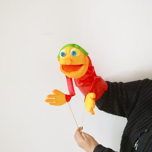 Marioneta de boca nene