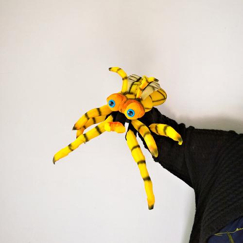 Títerede guante abeja