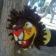 Marioneta de mano león