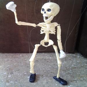 Marioneta De Hilos Esqueleto